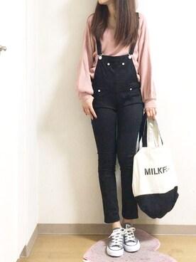 nana♡さんの(MILKFED.|ミルクフェド)を使ったコーディネート