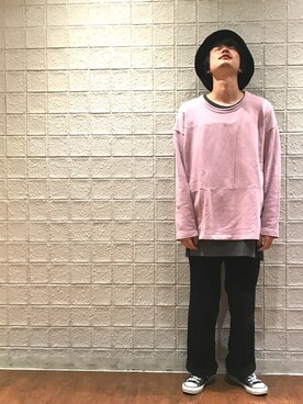 JUNRed 新宿ルミネエスト|Naoto Uedaさんの(THE COMESANDGOES|ザ カムズアンドゴーズ)を使ったコーディネート