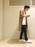 Naoto Uedaさんの「PETIT NEW STANDARD(A.P.C.|アー・ペー・セー)」を使ったコーディネート