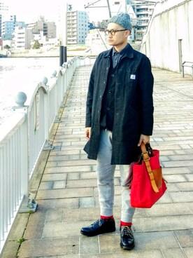 SHINJI  LOW さんの(白山眼鏡店 ハクサンメガネテン)を使ったコーディネート