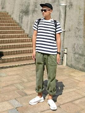 SHINJI  LOW さんの(YUPOONG)を使ったコーディネート