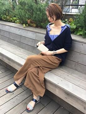 GRACE CONTINENTAL本社|kawanishiさんの(GRACE CONTINENTAL|グレースコンチネンタル)を使ったコーディネート