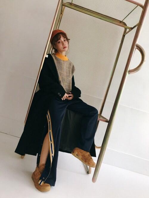 kiki謝琦琦使用(FILA)的時尚穿搭