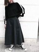 「GEEK EYEWEAR(MOUSSY)」 using this NORIKO looks