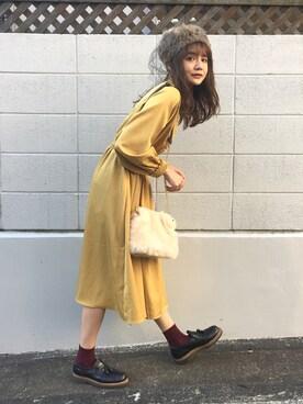 村田倫子さんの「◆あしながおじさん◆ タッセル付ローファー(あしながおじさん|アシナガオジサン)」を使ったコーディネート