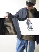eitaroさんの「KIJIMA TAKAYUKI スタンダードワッチ(KIJIMA TAKAYUKI|ビームス)」を使ったコーディネート