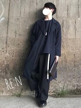 Re:nさんの「WEGO/プルオーバーシャツ(WEGO)」を使ったコーディネート
