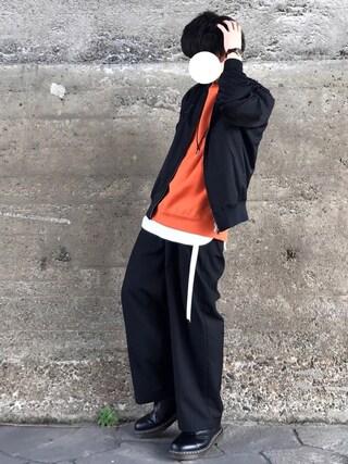 「WEGO/カラー起毛プルオーバー(WEGO)」 using this Re:n looks