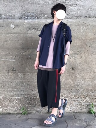 「VALO WIDE SHIRT-A(TROVE)」 using this Re:n looks