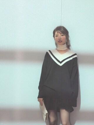「フリルプリーツコンビショートパンツ(MICOAMERI)」 using this 舟山久美子♡くみっきー looks