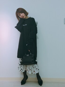 舟山久美子♡くみっきーさんの(MICOAMERI|ミコアメリ)を使ったコーディネート