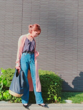 「RAYON CAMISOLE(MILKFED.)」 using this 舟山久美子♡くみっきー looks