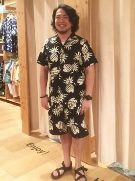 coen GENERAL STORE札幌エスタ店|たにさんの(coen|コーエン)を使ったコーディネート
