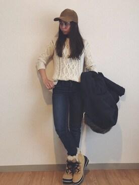 Ayumi NewAgeさんの(ROXY|ロキシー)を使ったコーディネート