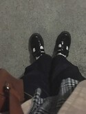 "RYO is wearing Dr.Martens ""Dr.Martens MARY JANE-P"""