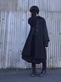 「スタンドフォールカラーコート(RIM.ARK)」 using this Kaname looks