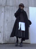「【my beautiful landlet】 boa long coat(my beautiful landlet)」 using this Kaname looks