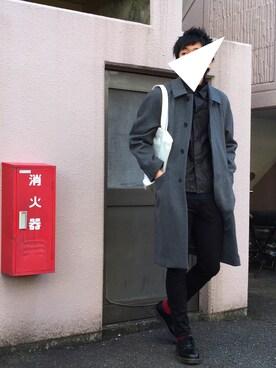 にっしーさんの「<断トツ人気No.1>ハイストレッチスキニーパンツ/724845(RAGEBLUE|レイジブルー)」を使ったコーディネート