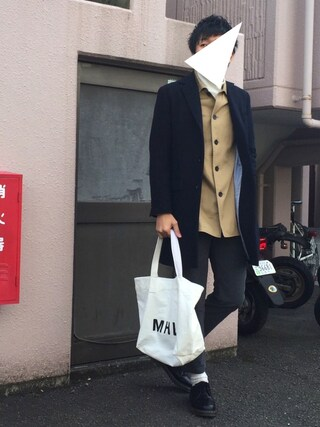 「COTTON TOP JERSEY SLM TROUSER(URBAN RESEARCH)」 using this にっしー looks