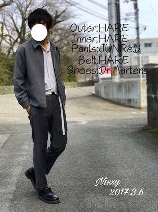 「ドリズラーブルゾン(HARE)(HARE)」 using this にっしー looks