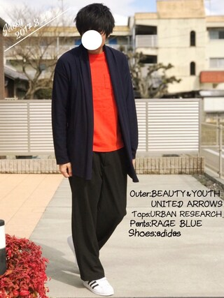 「BY ∴ エアフロート ラップ カーディガン -MADE IN JAPAN-(BEAUTY&YOUTH UNITED ARROWS)」 using this にっしー looks