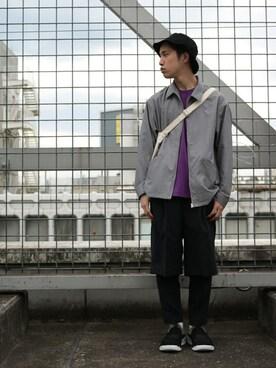 RAGEBLUE名古屋パルコ店|とづさんのショルダーバッグ「<2WAY仕様>STANDARD EASY BAG/743634(RAGEBLUE|レイジブルー)」を使ったコーディネート