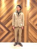 H.Murataさんの「Dickies×FREAK'S STORE/ディッキーズ 別注T/Cワークテーラード(FREAK'S STORE|フリークスストア)」を使ったコーディネート