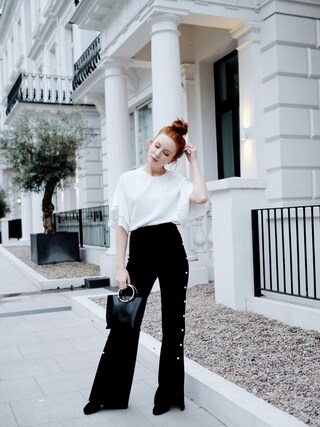 「Stuart Weitzman 'All Legs' Thigh High Boot (Women)(Stuart Weitzman)」 using this Maddie Greer looks