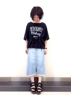 wcloset ららぽーとTOKYO-BAY店|Misaki  Abeさんの(w closet|ダブルクローゼット)を使ったコーディネート