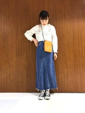 Ciaopanic海老名店|Tomomi  Sasakiさんのスニーカー「CONVERSE コンバース ALL STAR OX オールスター オックス (CONVERSE|コンバース)」を使ったコーディネート