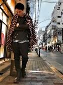 akihiro        okadaさんの「roar/ロアー/RT-27/シールドピストルダメージT(roar|ロア-)」を使ったコーディネート
