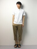 togiさんの「The Original Fred Perry Shirt - M12 (Made in England)(FRED PERRY|フレッドペリー)」を使ったコーディネート
