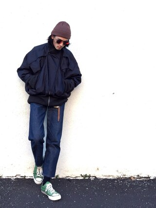 「<KIJIMA TAKAYUKI(キジマタカユキ)>T RIB KNITCAP(UNITED ARROWS)」 using this 君嶋麻耶 looks