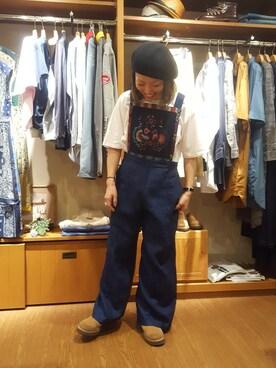 BEAVER渋谷店|Yamadaさんの(Nigel Cabourn|ナイジェルケーボン)を使ったコーディネート