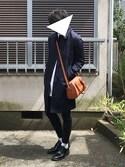 Aoiさんの「上品に持てるアクセントItem♪2way☆コンパクトミニボストンバッグ/レディース/神戸レタス[B783](KOBE LETTUCE|KOBE LETTUCE)」を使ったコーディネート