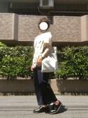 ナオキさんの「Revo. アンティーク ブラス バングル(Revo.|レボ)」を使ったコーディネート