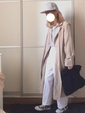 T☺︎cchiiさんの「裏毛ゆったりプルオーバー(natural couture|ナチュラルクチュール)」を使ったコーディネート