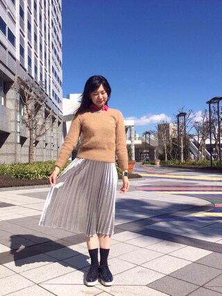 「knit(sacai luck)」 using this pinoko looks