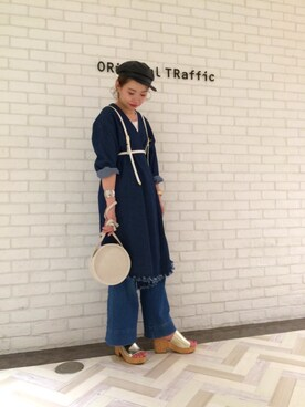 ORientalTRafficルミネ池袋店|igatomomiさんの(ORiental TRaffic|オリエンタルトラフィック)を使ったコーディネート