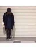 CHIKAさんの「MEN スウェットフルジップパーカ(長袖)(ユニクロ|ユニクロ)」を使ったコーディネート