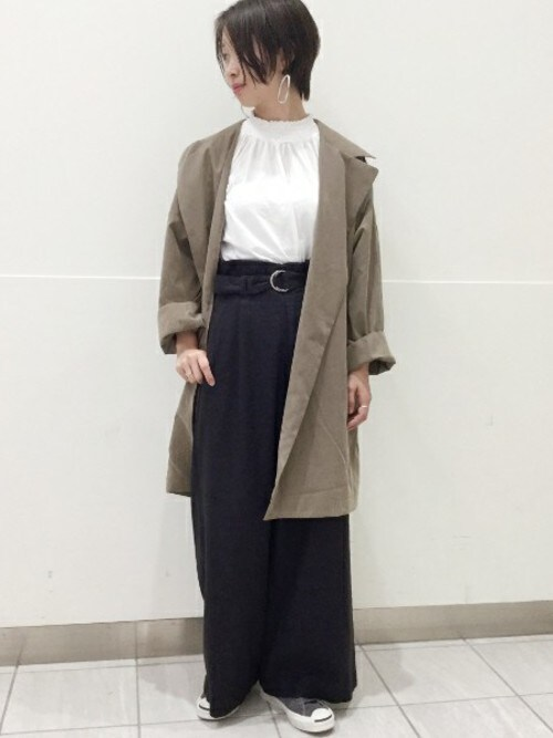 JOURNAL STANDARD relume EXPOCITY店さんの「P/Ny ドルマンコート_#(JOURNAL STANDARD relume)」を使ったコーディネート