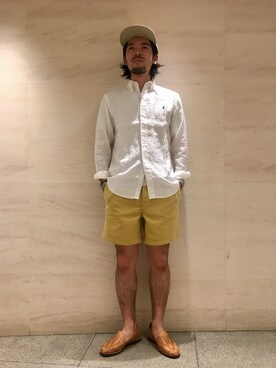 Bshop グランフロント大阪店|satoさんのパンツ「ラグビーショーツ MEN(GYMPHLEX|ジムフレックス)」を使ったコーディネート
