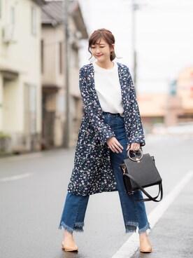 プチプラのあやさんの「プチプラ365days オトナ女子の着まわしコーデ(magazine)」を使ったコーディネート