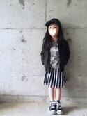 sacoさんの「チュールリバーシブルスカート(CIAOPANIC TYPY|チャオパニックティピー)」を使ったコーディネート