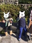 kana.mi-haruさんの「キッズ VANS ヴァンズ スニーカー SLIP ON V2014B GLX GALAXY(VANS バンズ)」を使ったコーディネート