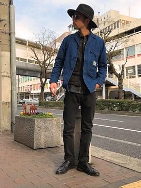 Schott Kobe Minoru_Uchidaさんの(schott ショット)を使ったコーディネート