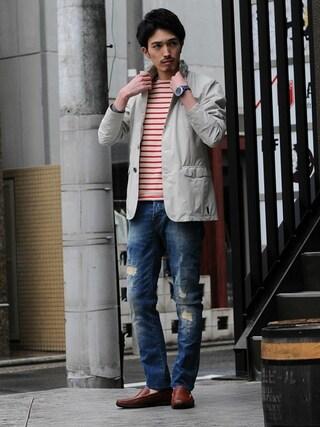 Octet nagoya|akihirotakimotoさんの(HERNO|ヘルノ)を使ったコーディネート