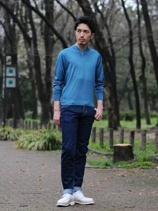 Octet nagoya|akihirotakimotoさんの(Paraboot|パラブーツ)を使ったコーディネート