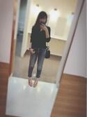 yuさんの「春夏新作★Vカットパンプス★7126(ORiental TRaffic|オリエンタルトラフィック)」を使ったコーディネート