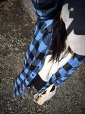 azulさんの「靴下屋/ 無縫製スラブひき揃えカバーソックス(靴下屋 クツシタヤ)」を使ったコーディネート